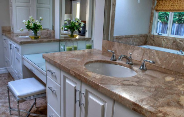Double Vanity Tops & Sinks