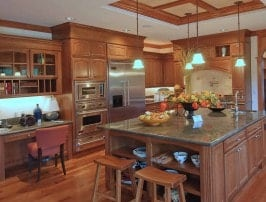 Kitchen Island Countertop & Sink