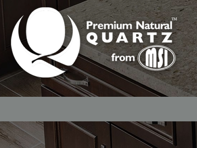 Premium Natural Quartz from MSI