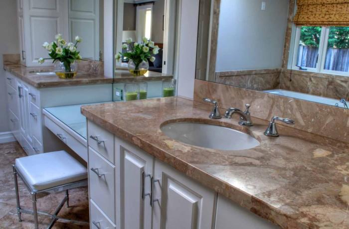 Double Vanity Tops & Sinks