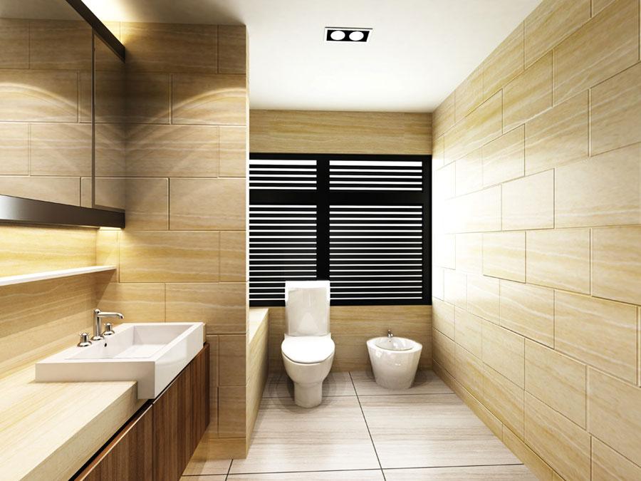 Floor to Ceiling Bathroom Tile