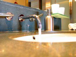 Wall-Mount Faucet & Backsplash