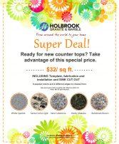 Granite Countertop Special $32/sf