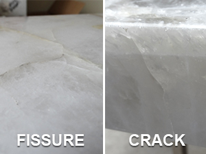 Stone Countertops Or Fissure